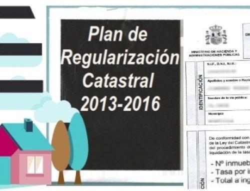 Regularización Catastral III: » Tasa de regularización: los 60 €»